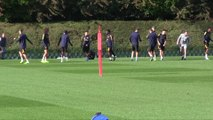 Arsenal training pre Standard Liege