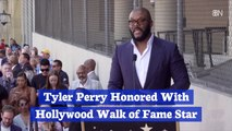 Tyler Perry's Walk Of Fame Star