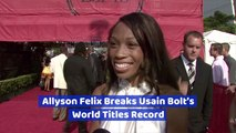 Allyson Felix Is Incredibly Fast
