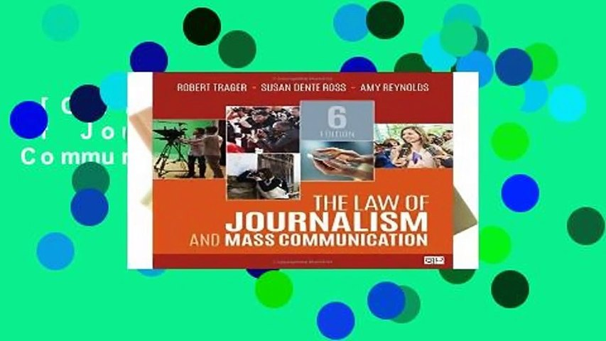 [GIFT IDEAS] The Law of Journalism and Mass Communication