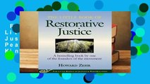 Full Version  The Little Book of Restorative Justice (Justice and Peacebuilding)  For Kindle