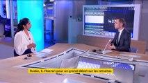Aveyron : grand débat sur les retraites à Rodez avec Emmanuel Macron