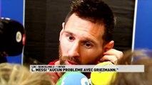 Lionel Messi et Griezmann