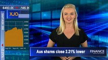 Global stocks fall on economic growth worries: ASX closes 2.2% lower