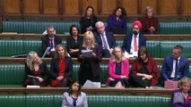 MP Rosie Duffield gives moving speech in Commons about her experience of domestic abuse