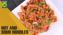 Hot and sour noodles with Asian twist| Mehboob's Kitchen | Masala TV Show | Mehboob Khan