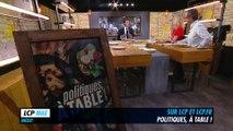 LCP-Bande annonce : Politiques, à table ! - Christian Estrosi