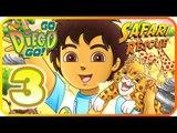 Go, Diego, Go! Safari Rescue Part 3 (Wii, PS2) Saving the Rhino, Buffalo and Monkeys