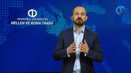 HELLEN VE ROMA TARİHİ - Ünite 6 Konu Anlatımı 1