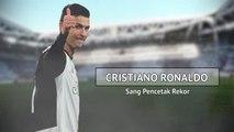 Cristiano Ronaldo, sang pencetak rekor