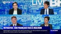 Retraites: 500 Français face à Macron - 03/10