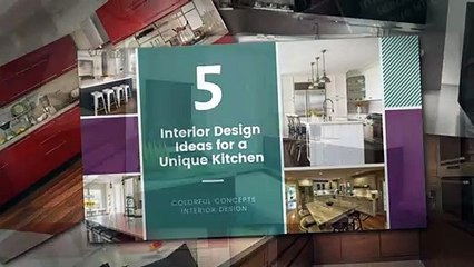 Colorful Concepts Interior Design Videos Dailymotion