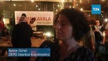 Osman Kavala için doğum günü etkinliği