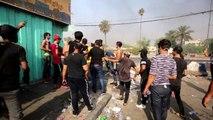 بغداد تستيقظ على الرصاص الحي رغم حظر التجول في ثالث يوم للاحتجاجات الدامية