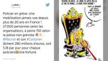 Emmanuel Macron : les policiers qui ne veulent plus le protéger