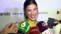 Sandra Gago celebra su primer cumpleaños como casada