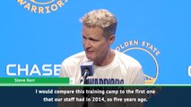 Warriors must return to old work ethic - Kerr