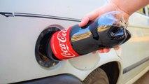 Sipali COCA COLU u rezervoar i CRKO je auto