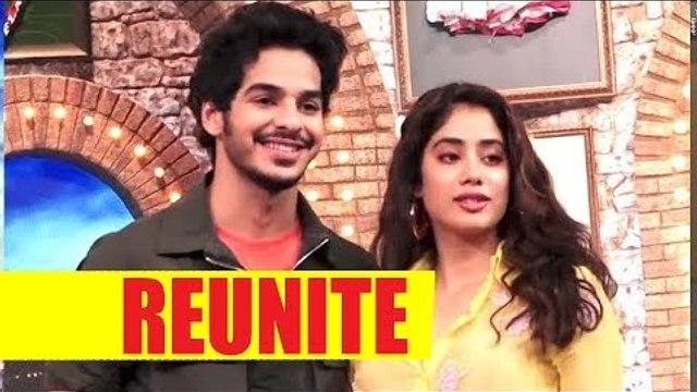 Janhvi and Ishaan reunite for Maniesh Paul's show