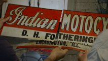 American Pickers: Mike Picks up the Pieces of a Motocross Sign