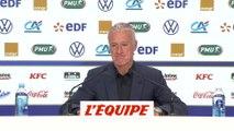 La liste de Deschamps - Foot - Euro 2020 - Bleus