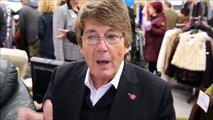 20191003 TV and radio presenter Mike Read opens Littlehampton charity superstore