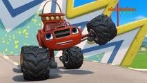 Blaze et les Monster Machines | Des oeufs plein les essieux | NICKELODEON JUNIOR