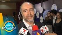 Odiseo Bichir habla sobre el próximo homenaje a José José en México.   Venga La Alegría