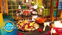 ¡Checa la receta del chef Mariano de estas ricas tlayudas campechanas! | Venga La Alegría