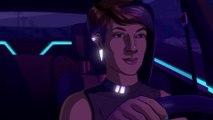 Neo Cab - Bande-annonce de lancement (Steam, Switch, Apple Arcade)