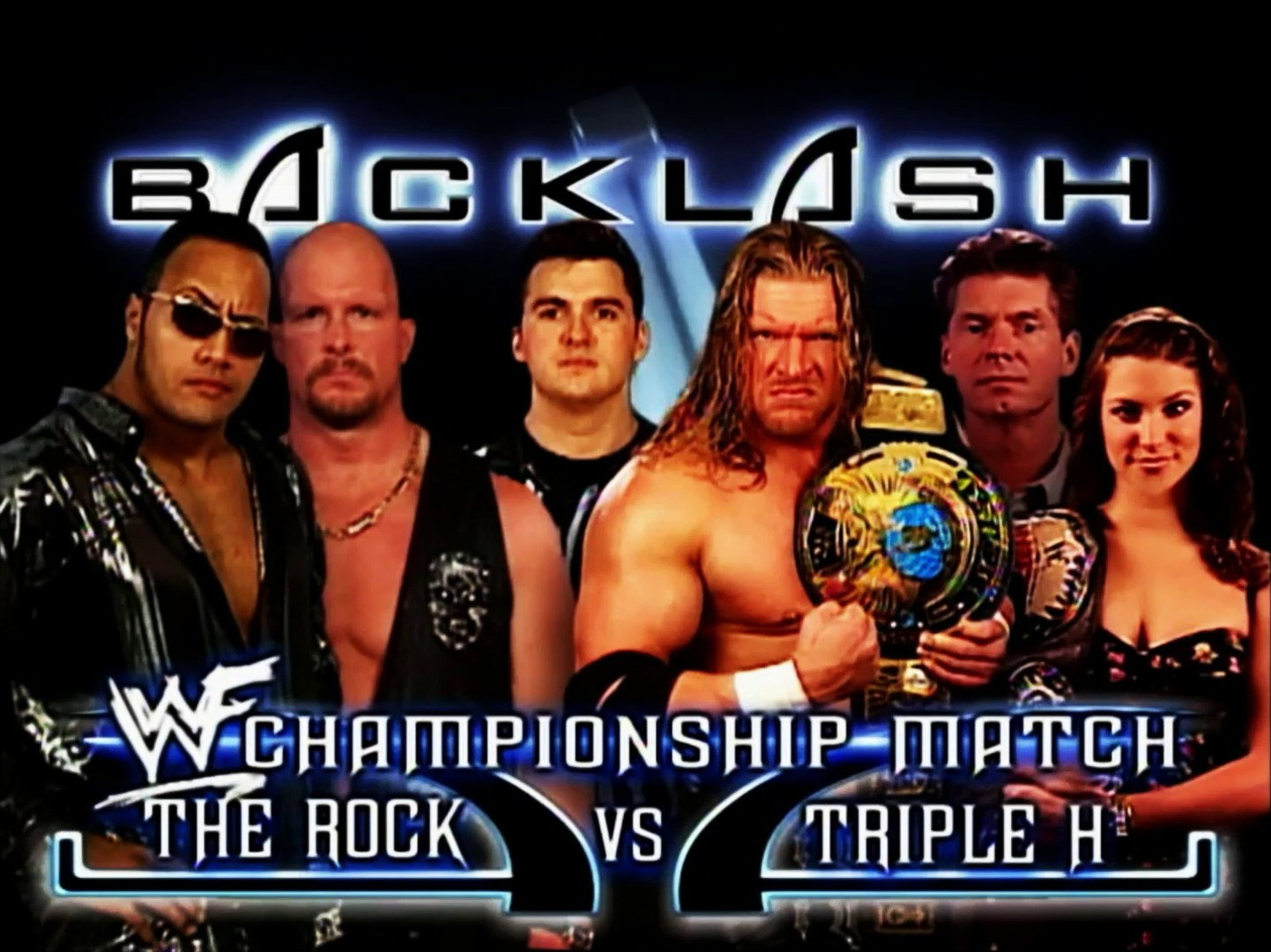 The Rock vs Triple H WWF Backlash 2000 Promo
