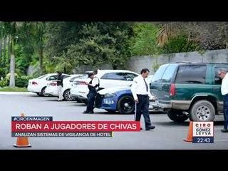 Asaltan a jugadores de Chivas en Tamaulipas | Noticias con Ciro Gómez Leyva