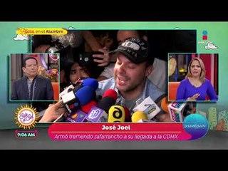 ¡José Joel asegura que los restos de José José no serán cremados! | Sale el Sol