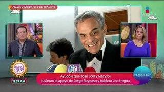 Charly López habla de su intervención para ayudar a hijos de José José   Sale el Sol