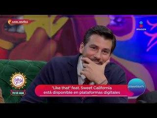 Axel Muñiz habla del éxito de su canción 'Like that' | Sale el Sol