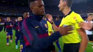 Lionel Messi applauded Ansu Fati performance against Valenci