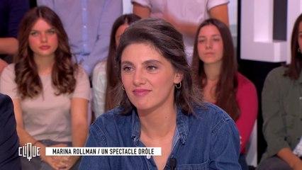 Marina Rollman : Un spectacle drôle - Clique - CANAL+