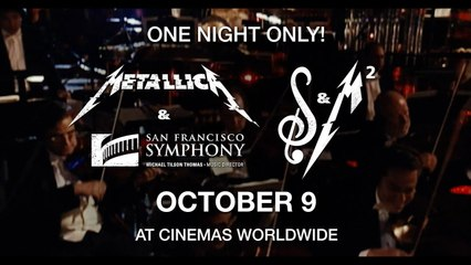 Metallica and San Francisco Symphony S&M² October 9, 2019