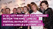 PHOTOS. Lily-Rose Depp opte pour un sideboob osé à l'avant-première de The King