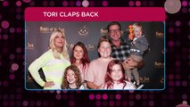 Tori Spelling Claps Back at Criticism Over Letting Daughters Dye Their Hair: 'Screw the Shamers'