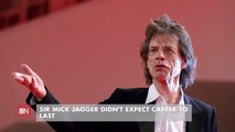 Sir Mick Jagger Comments On His Success