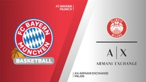 FC Bayern Munich - AX Armani Exchange Milan Highlights | Turkish Airlines EuroLeague, RS Round 1