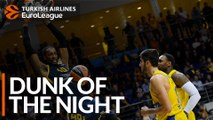 Turkish Airlines EuroLeague Dunk of the Night: Jeremy Evans, Khimki Moscow region