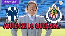 Matías Almeyda, dispuesto a negociar con Chivas y Monterrey, según Enrique Beas