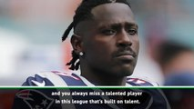 You always miss talented players in the NFL - Bell on Antonio Brown