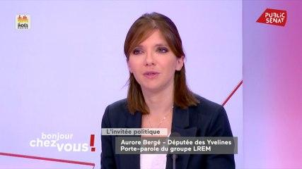 Aurore Bergé - Public Sénat vendredi 4 octobre 2019
