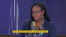 """""""Les gens pourraient remonter mon fil Twitter et regarder les fois où j'ai twitté depuis la ligne 13, qui est la bétaillère de la RATP"""", s'indigne Sibeth Ndiaye"""