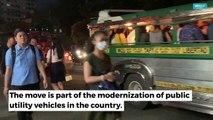 A look inside modern jeepney prototypes
