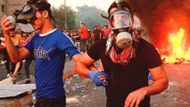 Iraqi security forces fire on protesters in Baghdad