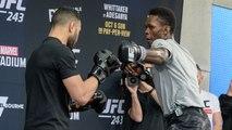 UFC 243: Whittaker vs. Adesanya - Open Workouts